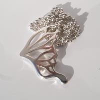 片羽 necklace   large   sv