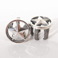 the big star!! バーエンドキャップ | Silver