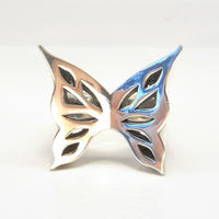 Block butterfly ring | Large