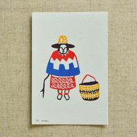 ポストカード|アンデスの女