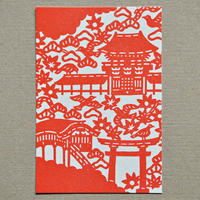 ポストカード|宇佐神宮絵図