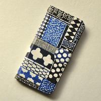 iPhone6/6s/7/8用ケース 手帳型|花布