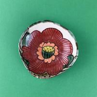 南国の花 豆皿