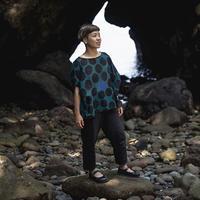 ドルマンシャツ|NAMIAMRU|型染の服 2021 夏