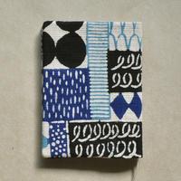 型染布ブックカバー(文庫本サイズ)|花布(多色)
