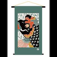 鯉金|端午の節句タペストリー