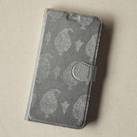 iPhoneX/XS用ケース 手帳型|祈りの葉