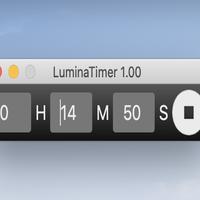 【アプリ】LuminaTimer 1.00 for MacOS