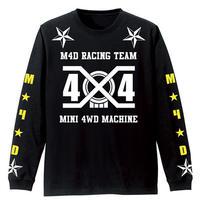 M4D 2019 ロングTシャツ 4x4-YE