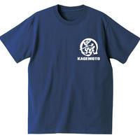 景元 / KAGEMOTO Tシャツ(インディゴブルー)