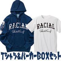 RACIAL デニムスウェットパーカー&TシャツBOX