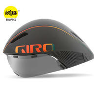 GIRO AEROHEAD MIPS Matte Grey Firechrome クールなままで時間に挑む トライアスロンやロングTT向けモデル