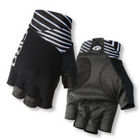 軽くて快適、最高の握り心地 GIRO CYCLING GLOVES ZERO CS Dazzle Black / Reflective