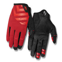 GIRO DND CYCLING GLOVES Dark Red / Bright Red