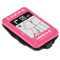 LEZYNE MEGA C GPS Limited Pink Edition 日本語対応モデル