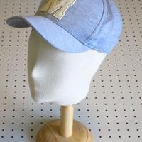 【EASTMOVE】コットンキャップ/ライトグレー野球帽子ベースボールキャップ