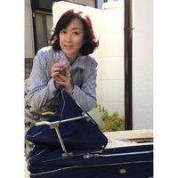 川上麻衣子手描きグラスFLICKA