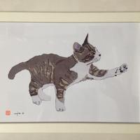 川上麻衣子オリジナル猫イラスト(大)cocolo