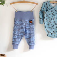100%オーガニックコットン:Modeerskahuset Leggings- In the Clouds