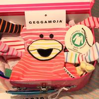 100%GOTS認証オーガニックコットン:Geggamoja BABY BOX tre