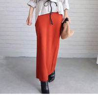*予約*ハイゲージスリムニットスカート//3colors