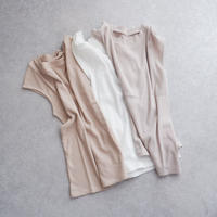 万能♡フレンチスリーブカットソー//2colors