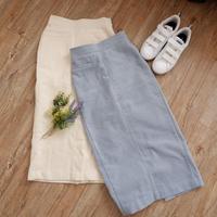 コーデュロイタイトスカート//2colors