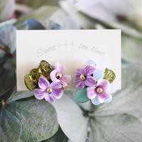 「祝福の花束」イヤリング
