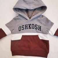 【oshkosh】gray logo foodie