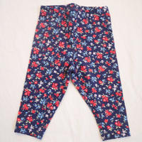 【carter's】navy flower leggings