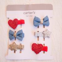 【carter's】3-pair hair clip