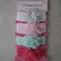 Head accessories  chiffon flower