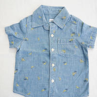 【carter's】Banana  Printed  Denim  Shirt