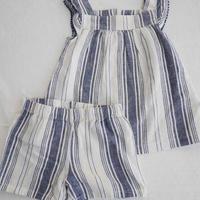 【carter's】Linen Stripe  Setup
