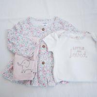【carter's】baby girl flower  3setup