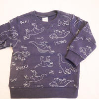 【carter's】Dinosaur print sweat top