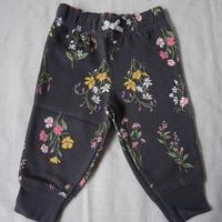 【carter's】Girl's Flower Sweat Pants