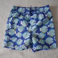 Coral  Fish  Print  Swim  Trunk
