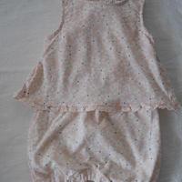 【cartera's】Babygirl Frill  Flower Cover Romper