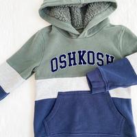 【oshkosh】khaki logo foodie