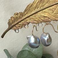 Baroque pearl 「SOLITAIRE 」pierces