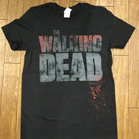 WALKING DEAD splatterロゴTシャツ