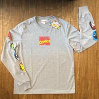 MARVEL HERO ロングTシャツ