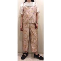 龍×鳳凰チャイナセットアップ/pink