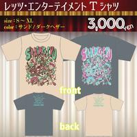 レッツ・エンターテイメントTシャツ