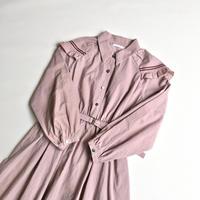 ケープワンピース / Dawn pink