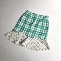 ペプラムスカート / Green