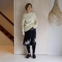 リネン・サロンスカート 乱菊