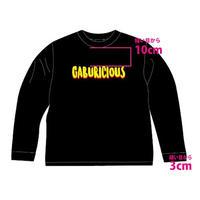 【グッズ】ガブリロンT (黒)【GABURICIOUS】
