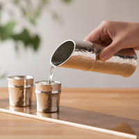 【能作】竹型酒器セット